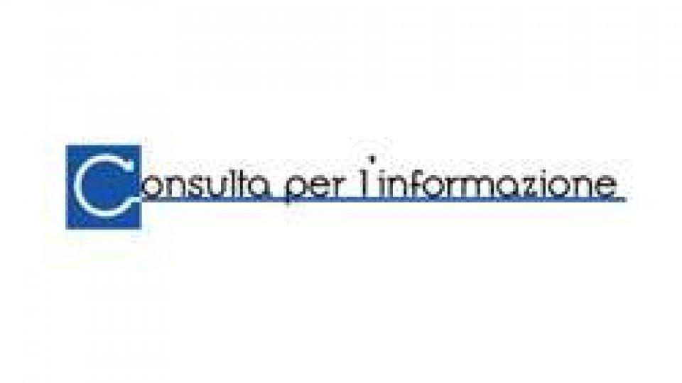 Consulta Informazione: Eletto il nuovo Consiglio Direttivo della Consulta per l'Informazione
