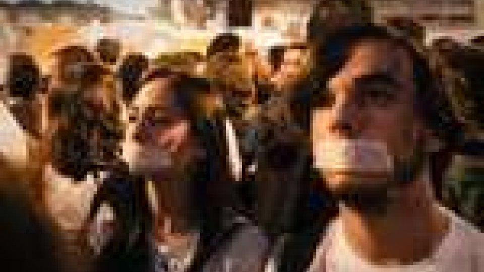 Indignados in piazza a Madrid