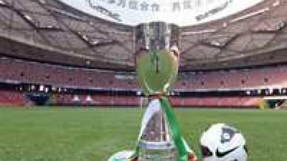 Supercoppa: Juve già a Roma, ma con l'imprevisto.