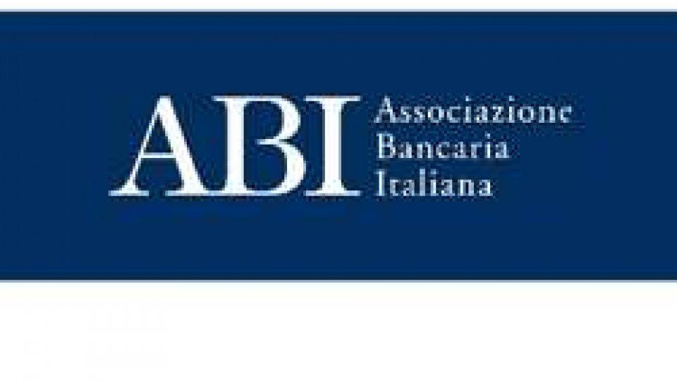 Banche: piena collaborazione tra l'Abi e l'Associazione Bancaria Sammarinese