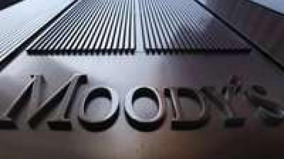 Italia: Moody's rivede al ribasso le stime di crescita