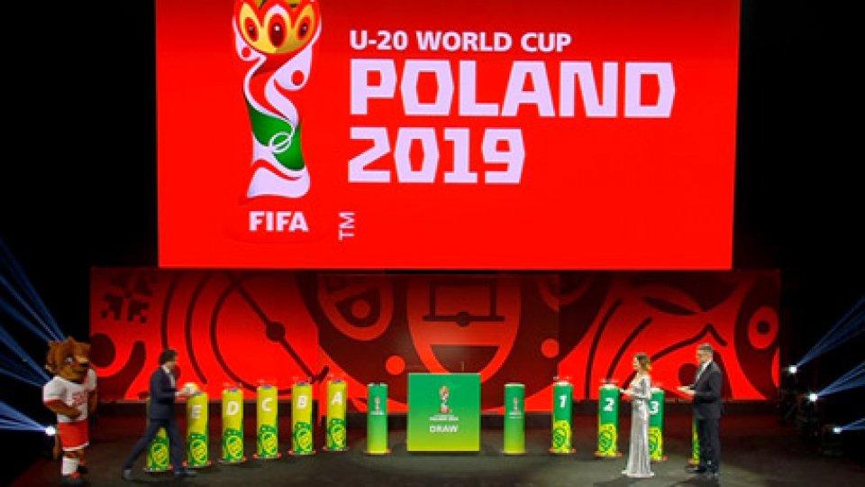 Sorteggi Mondiali U20Mondiali U20: l'Italia con Messico, Giappone e Ecuador