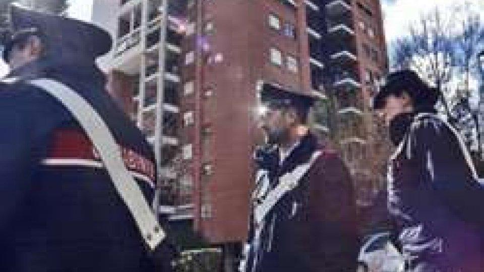 I Carabinieri sul luogo del delitto (repubblica.it)