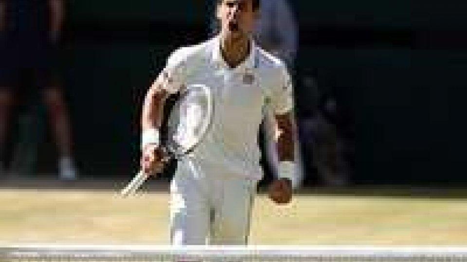 Wimbledon: Djokovic primo finalista