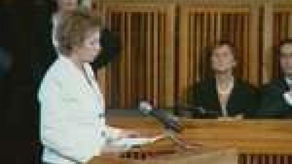 San Marino - Letizia Moratti pronuncia l'orazione ufficialeLetizia Moratti pronuncia l'orazione ufficiale