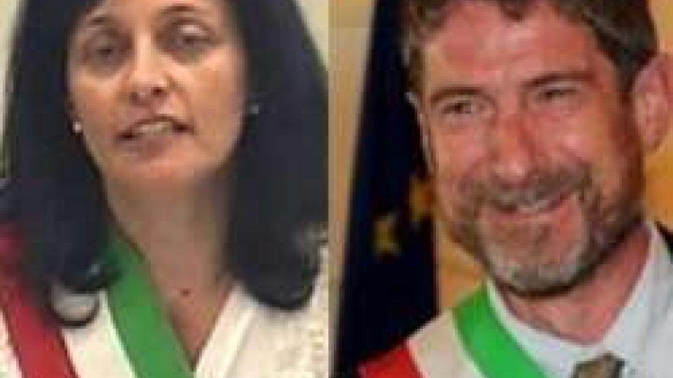 Renata Tosi e Claudio BattazzaCommissari a Riccione e Morciano