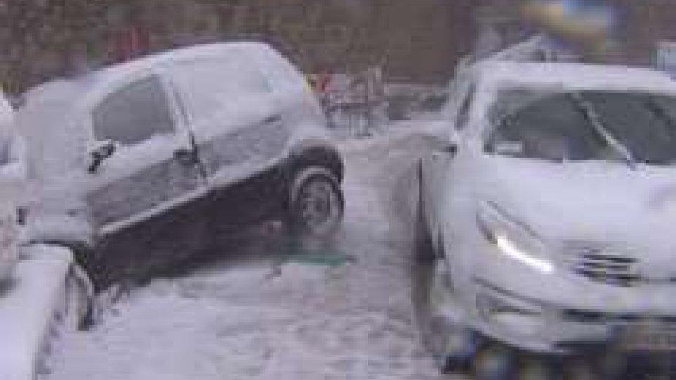 Maltempo: torna la neve sul Titanoil Maltempo in città