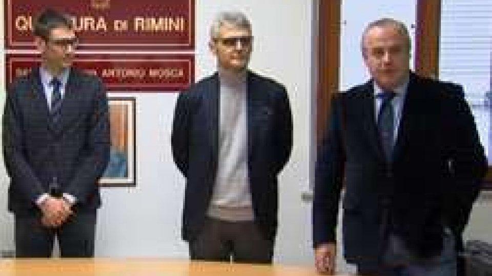 Questura Rimini: due nuovi dirigenti, Massimo Sacco e Gabriele MagnoniQuestura Rimini: due nuovi dirigenti, Massimo Sacco e Gabriele Magnoni