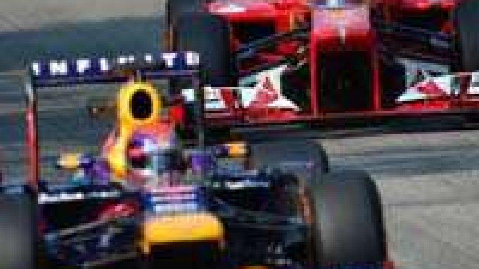 Vettel in pole, qunta la Ferrari