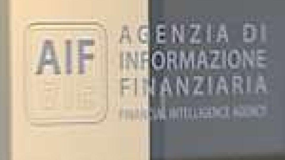 AIF: aumentano le segnalazioni antiriciclaggio