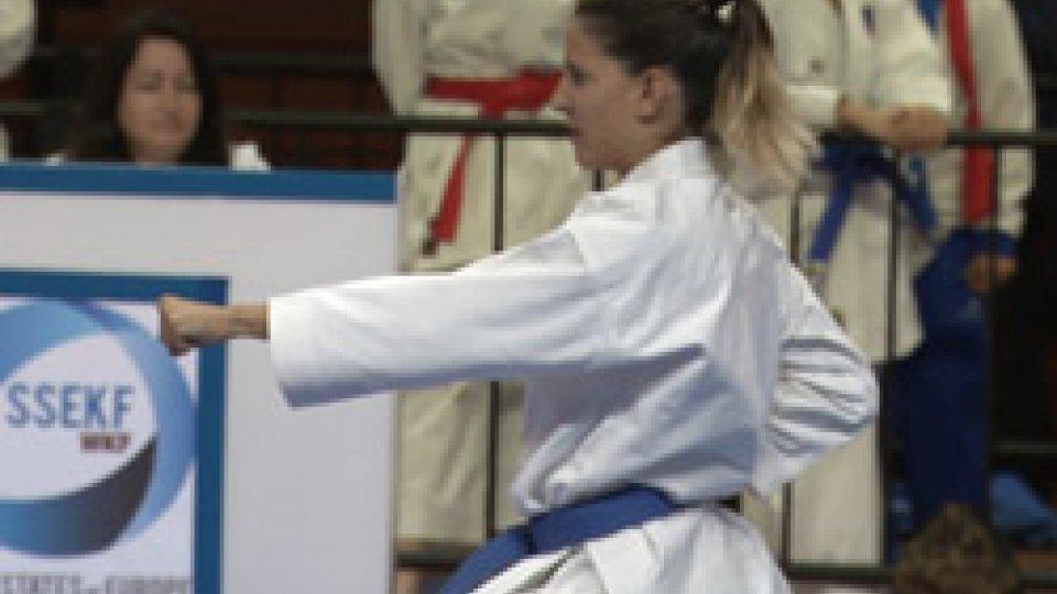 Karate al MultieventiGiochi Piccoli Stati Karate, oro per Mattei e per la squadra maschile junior di kata