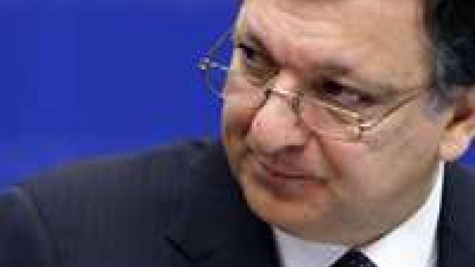 """UE, Barroso: """"Pronti accordi di libero scambio con Canada e India"""""""