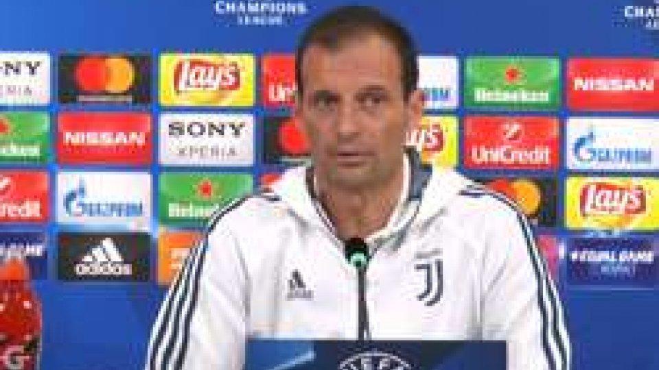 Massimiliano AllegriChampions League: questa sera Juve - Tottenham