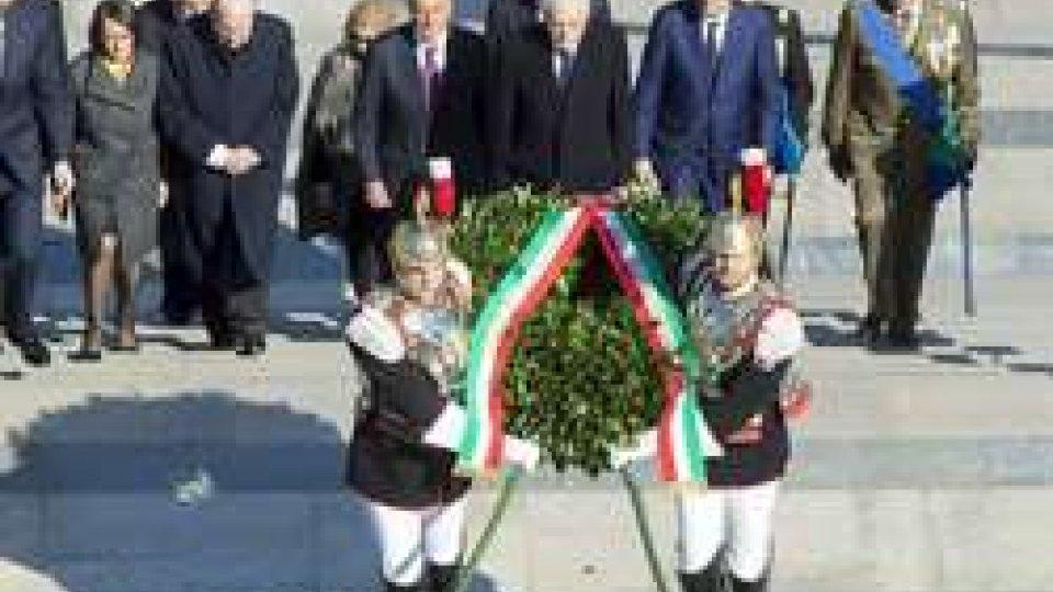 156° anniversario dell'unità d'Italia