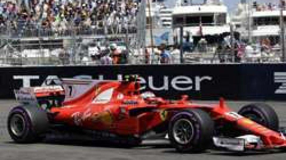 GP Montecarlo: Raikkonen torna in pole dopo 9 anni
