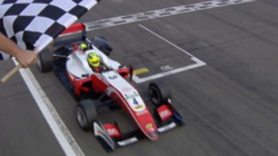 Mick SchumacherFormula 3, Mick Schumacher fa tripletta nel GP di Germania e punta il titolo