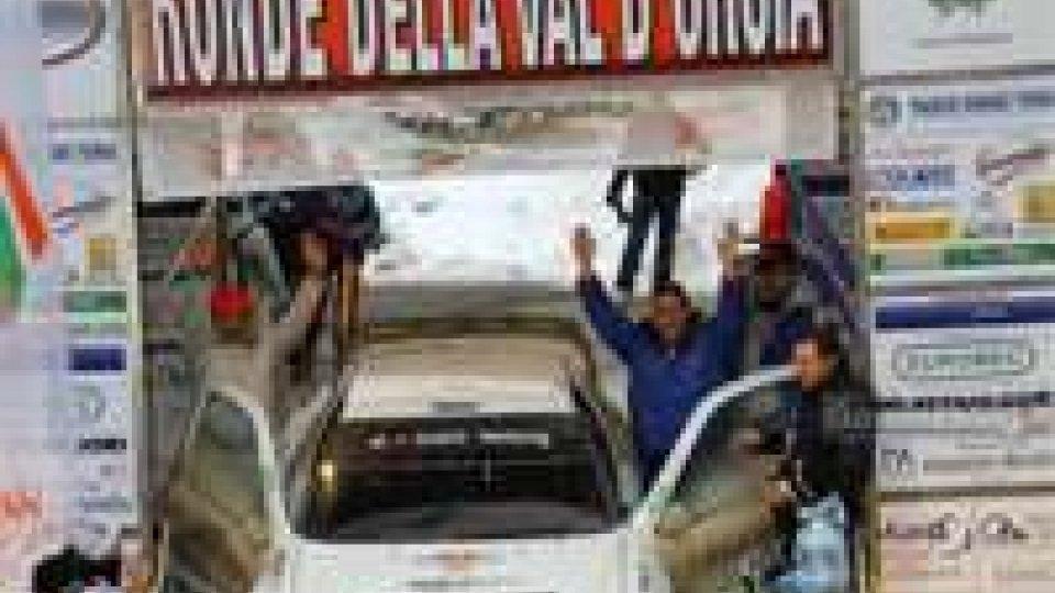 Rally della Val D'orcia, vince Taddei, Vagnini quattordicesimo