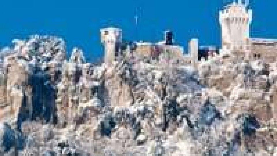 Titano: maltempo e neve in arrivo in serata