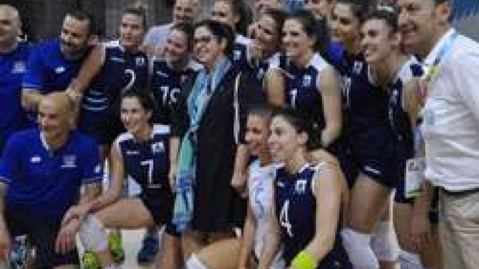 Volley donne: San Marino al tie-break col LussemburgoVolley donne: San Marino al tie-break col Lussemburgo