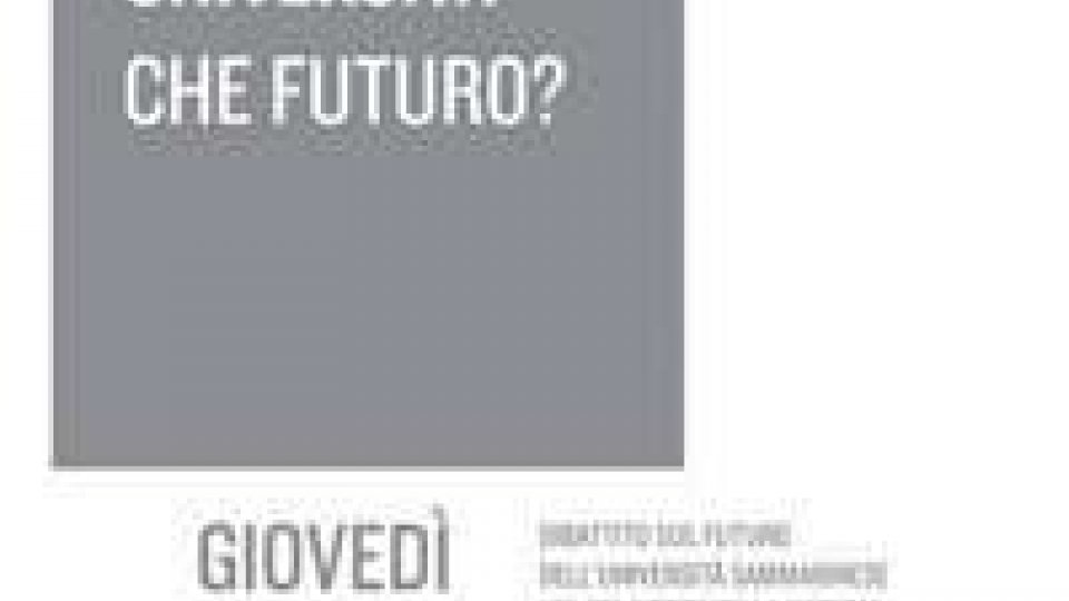 Movimento Rete, Università sammarinese: che futuro?