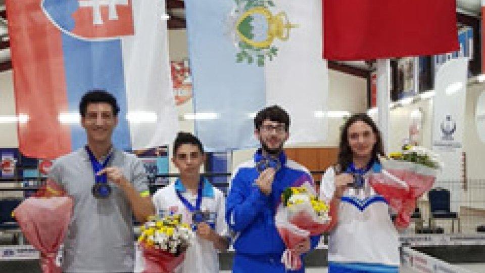 Bocce, due medaglie di bronzo per San Marino agli Europei Under 18