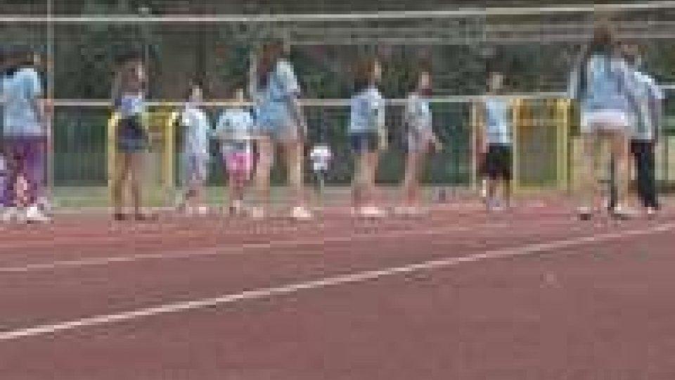 San Marino - Festa di giochiamo allo sport allo stadio di Serravalle