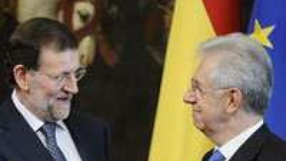 Eurozona: vertice italo-spagnolo e sprint greco
