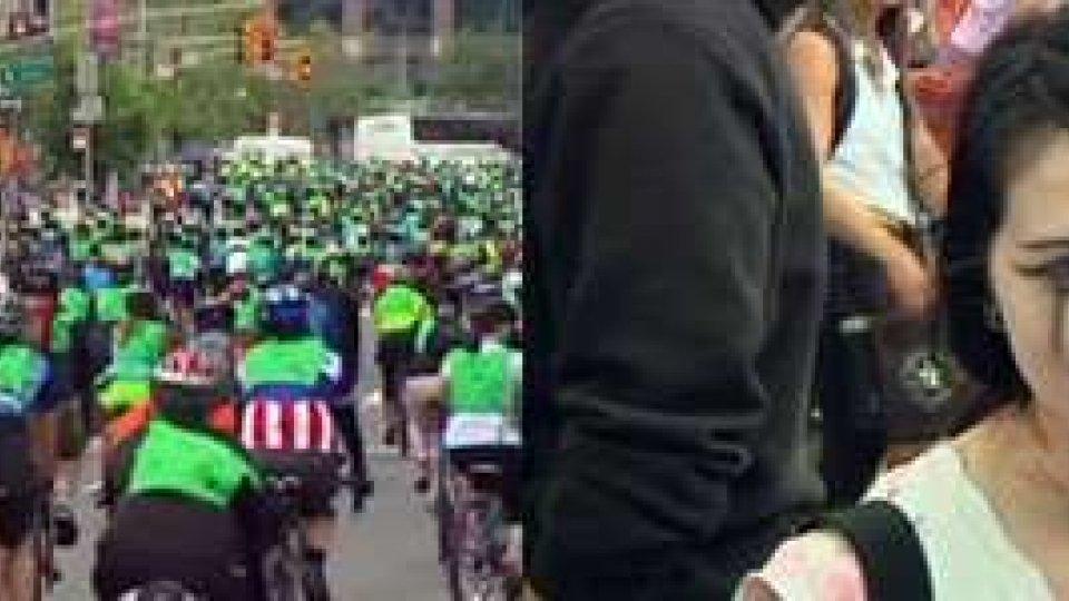 New York invasa dalle biciclette, Praga dagli zombie