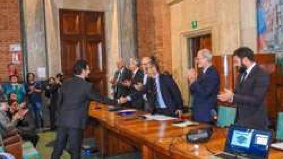 Laurea di Francesco Lanotte (ph LaNazione)