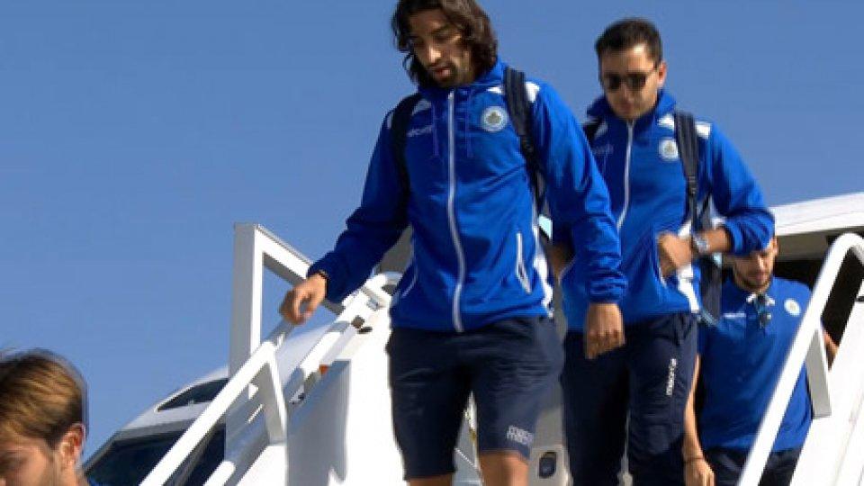 l'arrivo della NazionaleNations League: San Marino in Moldavia