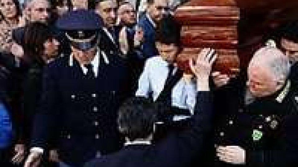 Chiesa gremita al funerale di Agnese Borsellino