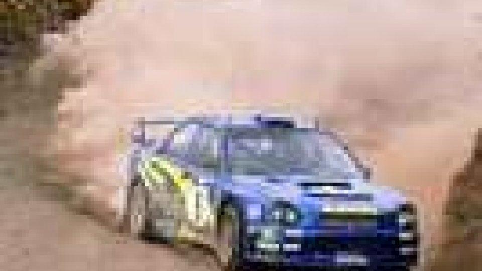 Rally: gara sfortunata per Valli