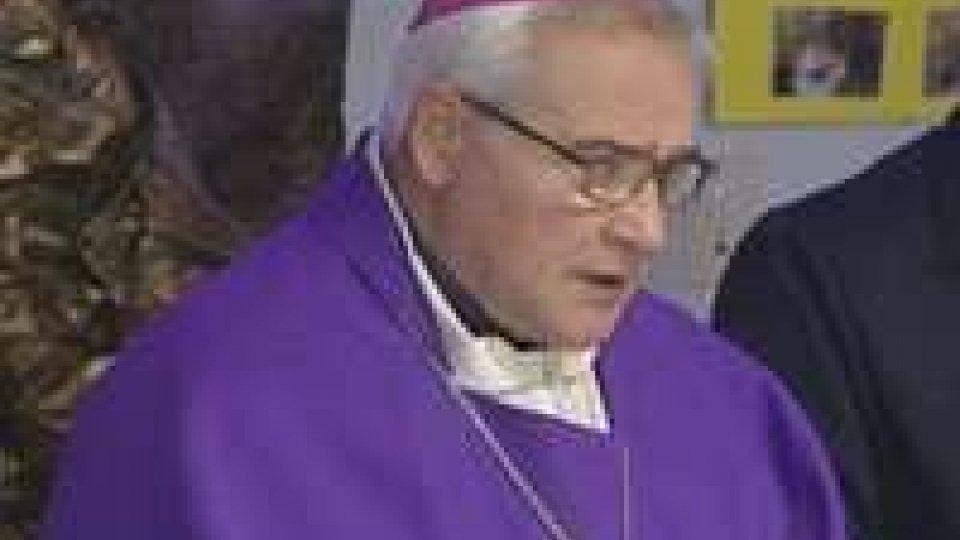 Santa Messa di Mons. Negri alla casa di riposo