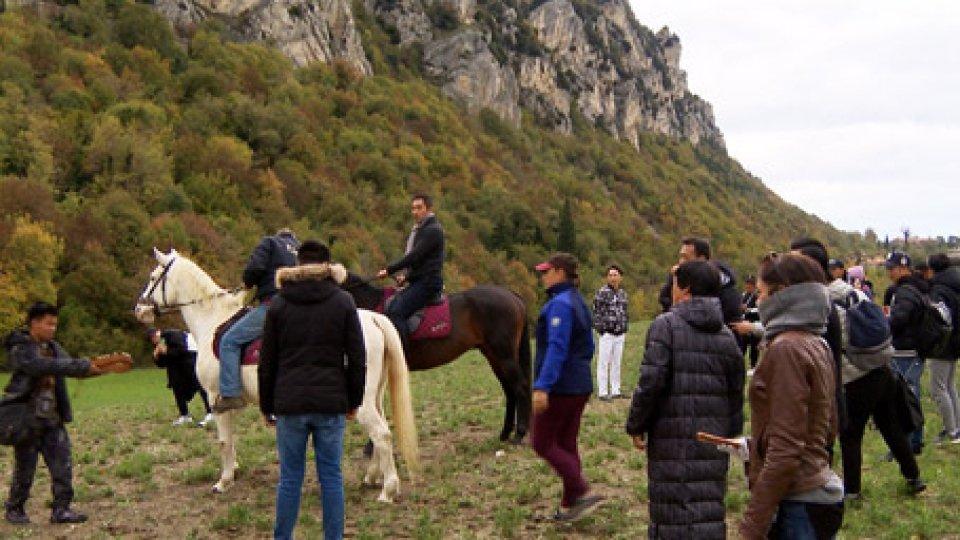 """""""Dimmi chi sono""""""""Dimmi chi sono"""", è il film di produzione cinese ambientato a San Marino"""