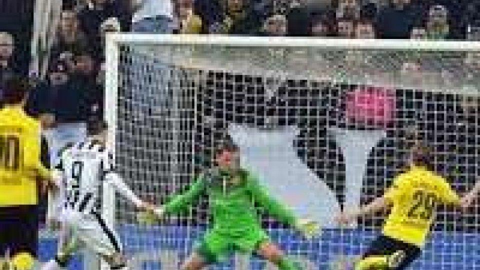 Champions League: Juve batte il Borussia nell'andata ottavi
