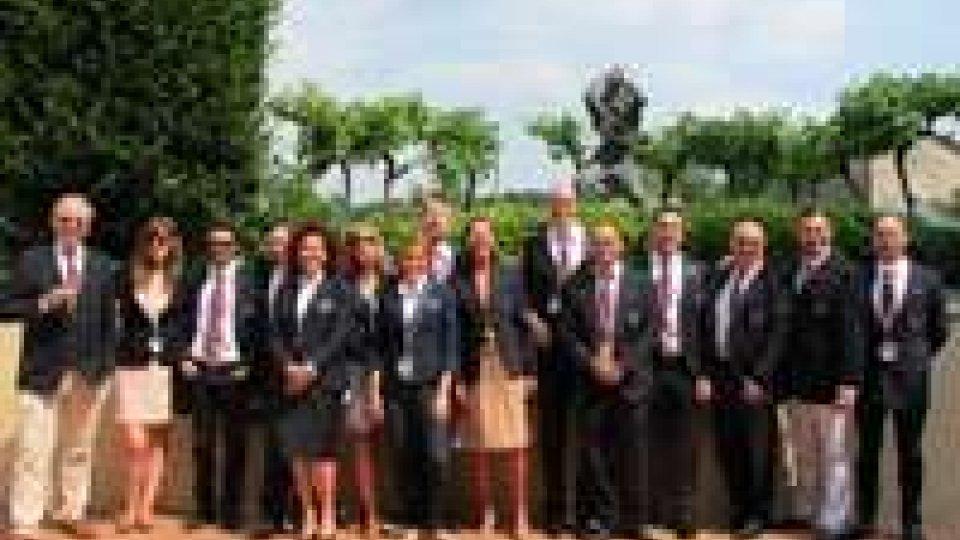 Franciacorta: consegna dei taste vin ai 13 neo diplomati sommelier sammarinesi