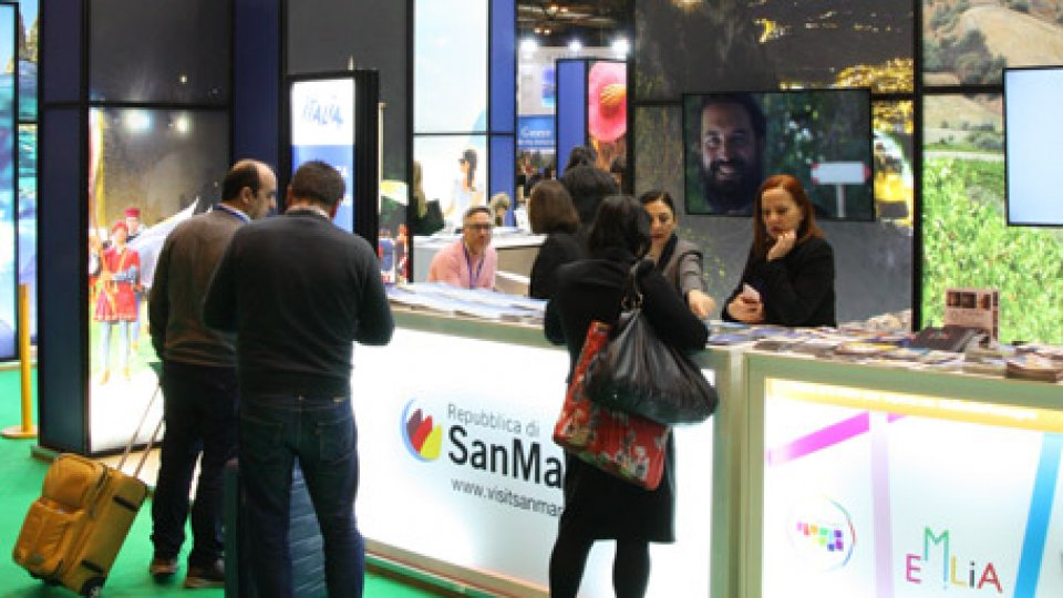 Lo stand sammarinese all'ITB di Berlino