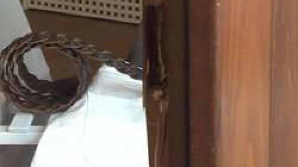 La porta forzataFurto in un negozio di Montegiardino: ladri scappano con la refurtiva