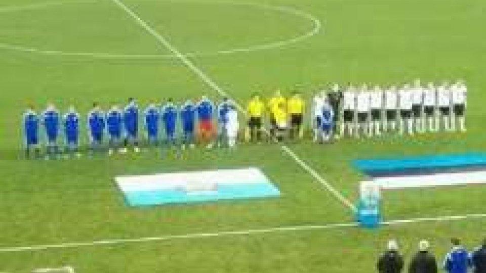 Under 21: l'Estonia passa a San Marino 2-1Under 21: l'Estonia passa a San Marino 2-1