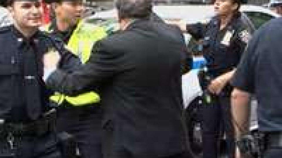 New York, fuori da Palazzo di vetro la protesta rischia di degenerareNew York, fuori da Palazzo di vetro la protesta rischia di degenerare