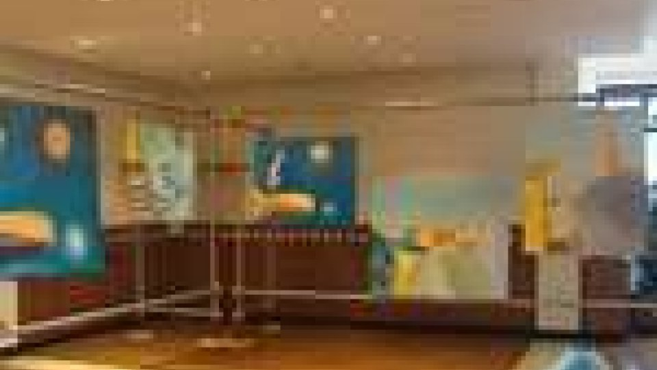 """San Marino - Grande successo per la personale di Antonio Lengua, """"Frammenti""""Grande successo per la personale di Antonio Lengua, """"Frammenti"""""""