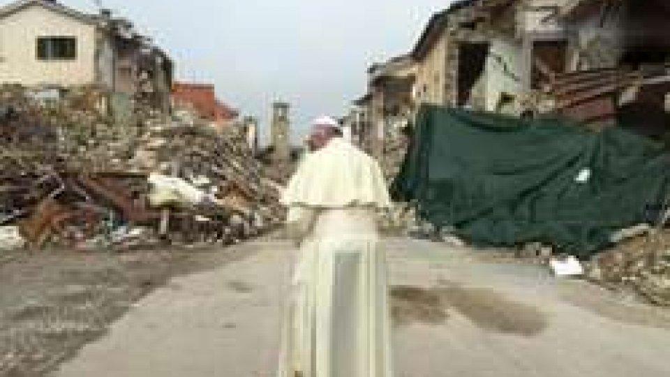 Papa nella zona rossa