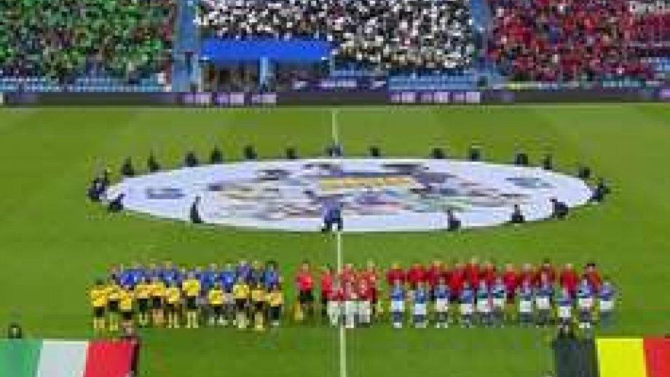 Italia BelgioMondiali: impresa della nazionale italiana che batte 2-1 il Belgio e fa un passo fondamentale verso Francia 2019