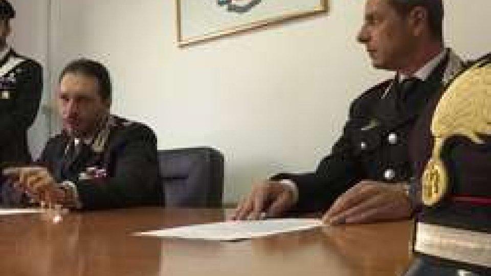 Conferenza stampa Cc RiminiRimini, ai domiciliari l'invalido 'dei poveri'