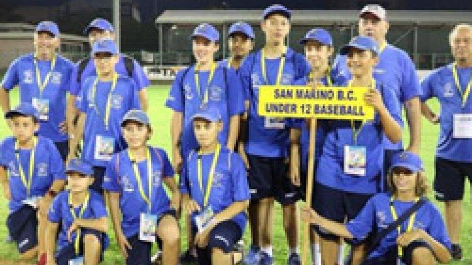 Baseball giovanile: soddisfazioni da Under12 e Under 15