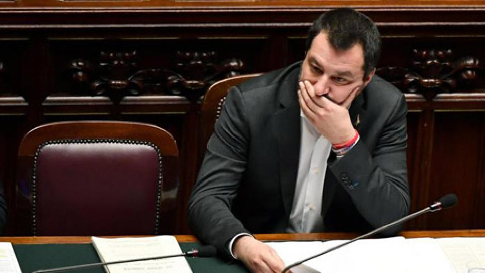Matteo Salvini. AnsaCaso Diciotti: intervista Giancarlo Giorgetti