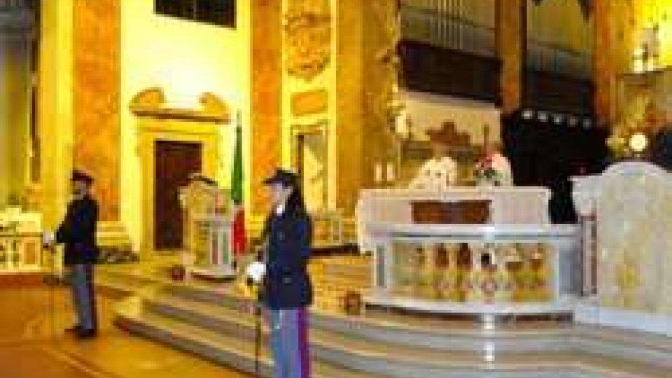 Funzione religiosa in memoria dei caduti della Polizia di Stato