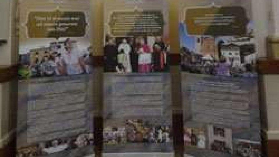 La mostra sulla visita di Benedetto XVI approda nella Cattedrale di Pennabilli
