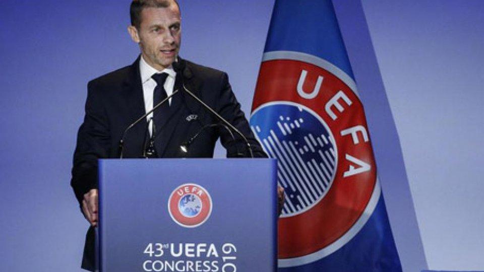 Aleksander CeferinCeferin rieletto alla Presidenza Uefa