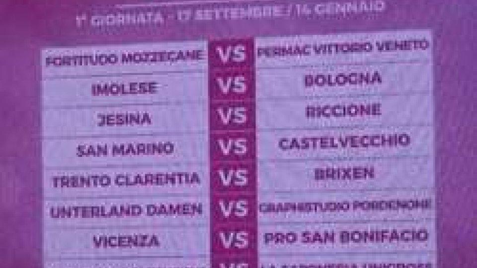 Calendario Serie B Femminile.Calcio Femminile Presentati I Calendari Per La San Marino